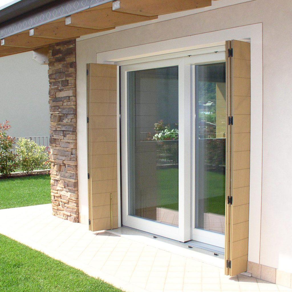 Serramenti in alluminio legno e pvc denia serramenti - Persiane per finestre scorrevoli ...