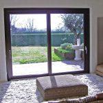 Alzante alluminio/legno