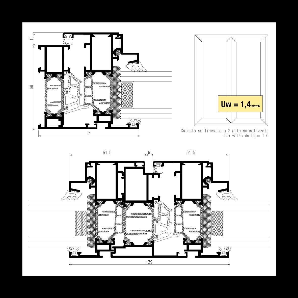 denia articolo 4 alluminio foto brochure