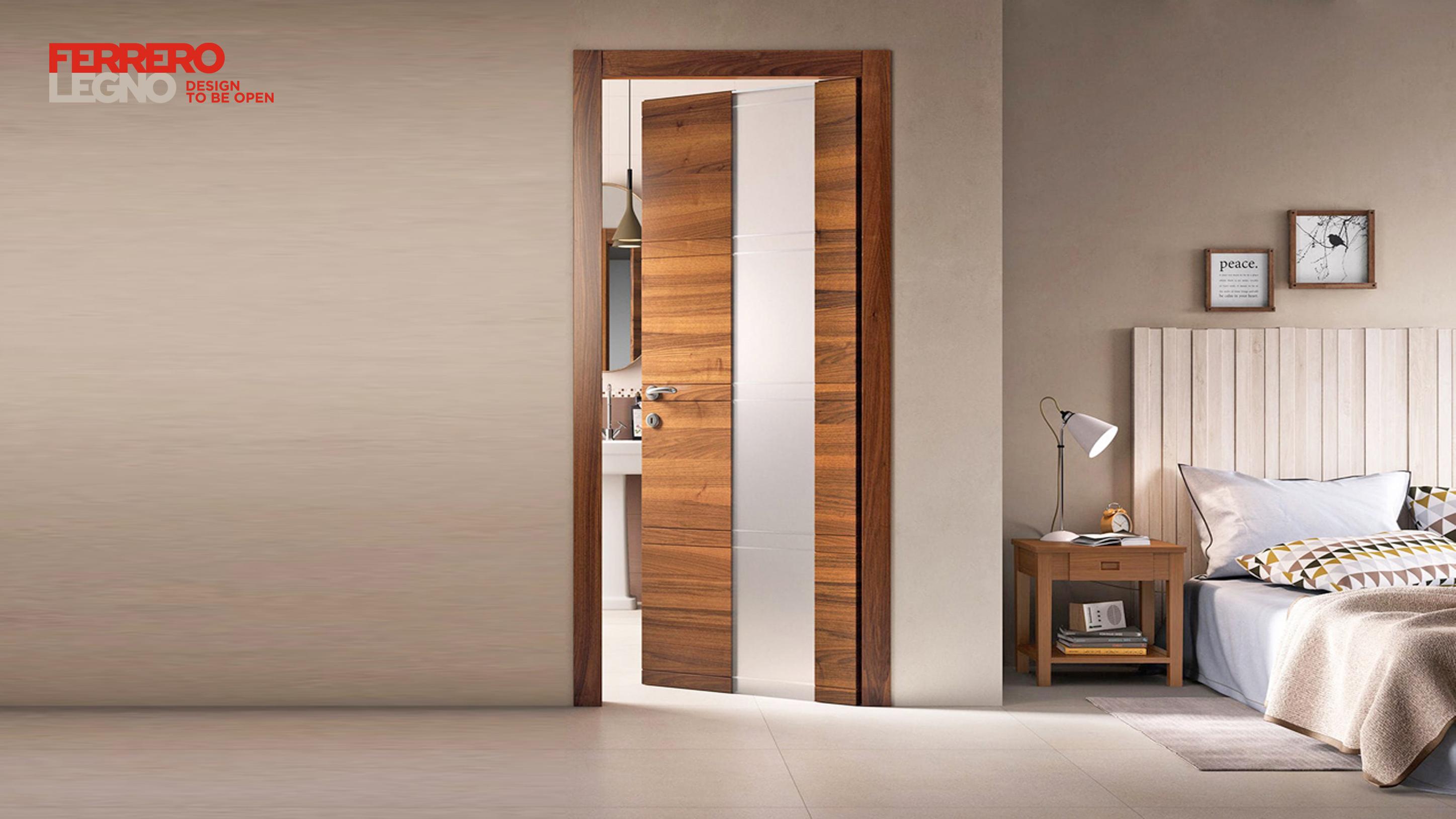 Colori Porte Interne Moderne porte interne moderne - serramenti in alluminio, legno e pvc